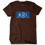 Chicago Blues Music T-Shirt - Classic Heavy Cotton