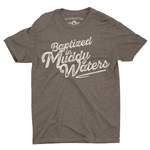 Baptized in Muddy Waters T-Shirt - Lightweight Vintage Style