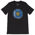 Small Batch Howlin' Wolf Vinyl Record T-Shirt - Lightweight Vintage Style