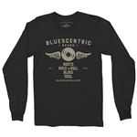 Bluescentric Brand Long Sleeve T-Shirt