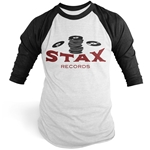 Stax Records Stax O Wax Baseball Tee