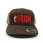 Snapping Fingers Stax Records Hat - Brown Trucker