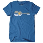 Guitar Reflection T-Shirt - Classic Heavy Cotton