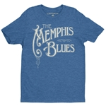The Memphis Blues T-Shirt - Lightweight Vintage Style