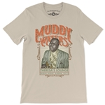 Muddy Waters Concert Poster T-Shirt - Lightweight Vintage Style