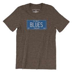 Chicago Blues Vintage T Shirt