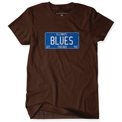 Chicago Blues Classic Gildan T Shirt