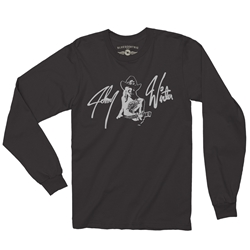 Johnny Winter Long Sleeve T Shirt