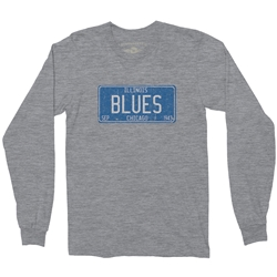 Chicago Blues Long Sleeve T Shirt