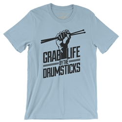 Grab Life by the Drumsticks T-Shirt - Lightweight Vintage Style
