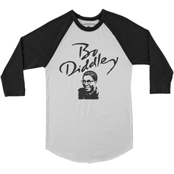 Bo Diddley Baseball T-Shirt