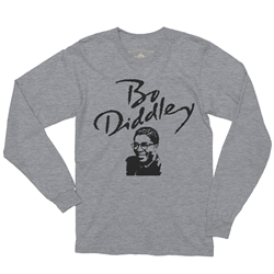 Bo Diddley Long Sleeve T-Shirt