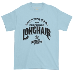 Professor Longhair Rock n Roll Gumbo T-Shirt - Classic Heavy Cotton