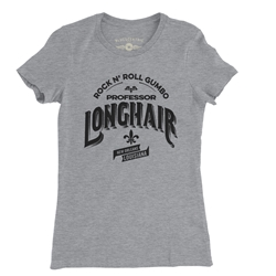Professor Longhair Rock n Roll Gumbo Ladies T Shirt