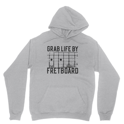 Grab Life by the Fretboard Guitar Pullover