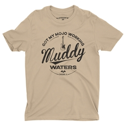 Muddy Waters Mojo Workin T-Shirt - Lightweight Vintage Style