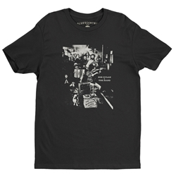 Bob Dylan and The Band Basement Tapes T-Shirt - Lightweight Vintage Style