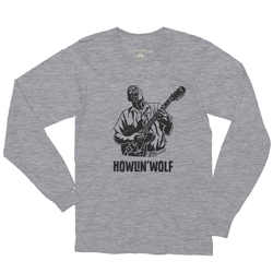 Howlin Wolf Blues Long Sleeve T Shirt