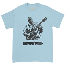 Howlin Wolf Blues T-Shirt - Classic Heavy Cotton