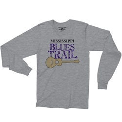 Mississippi Blues Trail Long Sleeve T-Shirt