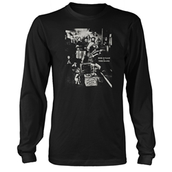 Bob Dylan and The Band The Basement Tapes Sleeve T Shirt