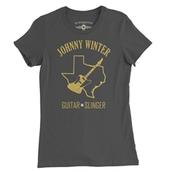 Texas Johnny Winter Ladies T Shirt