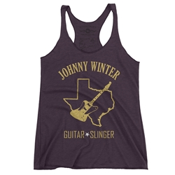 Texas Johnny Winter Racerback Tank - Women's