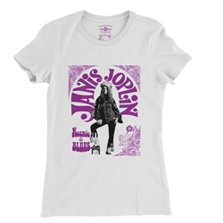 Janis Joplin Kozmic Blues Ladies T Shirt