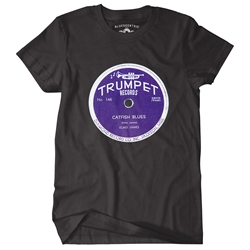 Trumpet Records Catfish Blues T-Shirt - Classic Heavy Cotton