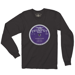 Trumpet Records Catfish Blues Long Sleeve T-Shirt