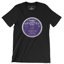 Trumpet Records Catfish Blues T-Shirt - Lightweight Vintage Style