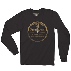 Paramount Records Got The Blues Long Sleeve T-Shirt