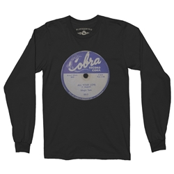 Cobra Records Magic Sam Vinyl Long Sleeve T-Shirt