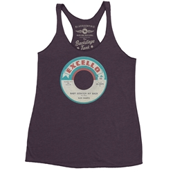 Excello Records Vinyl Record Racerback Tank - Women's