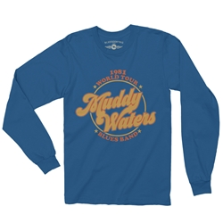 Muddy Waters Blues Band Long Sleeve T-Shirt
