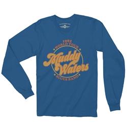 68b822f05f1e Muddy Waters Blues Band Long Sleeve T-Shirt