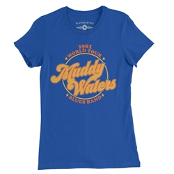 Muddy Waters Blues Band Ladies T Shirt