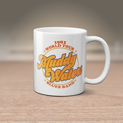 Muddy Waters Blues Band Coffee Mug