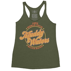Muddy Waters Blues Band Racerback Tank - Women's