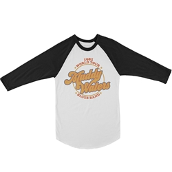 Muddy Waters Blues Band Baseball T-Shirt