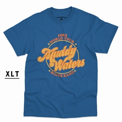 XLT Muddy Waters Blues Band T-Shirt - Men's Big & Tall