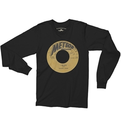 Meteor Records Vinyl Record Long Sleeve T-Shirt