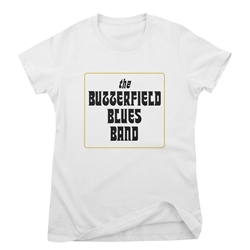 Butterfield Blues Band Ladies T Shirt