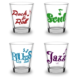 Music Shot Glasses