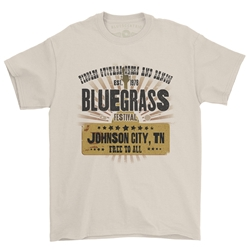 Bluegrass Festival T-Shirt - Classic Heavy Cotton