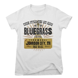 Bluegrass Festival Ladies T Shirt