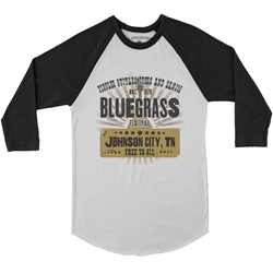 Bluegrass Festival Baseball T-Shirt