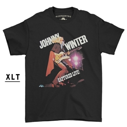 XLT Johnny Winter Captured Live T-Shirt - Men's Big & Tall