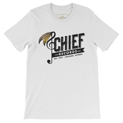 Chief Records Feather T-Shirt - Lightweight Vintage Style