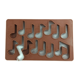 Silicone Music Note Ice Cube Trays